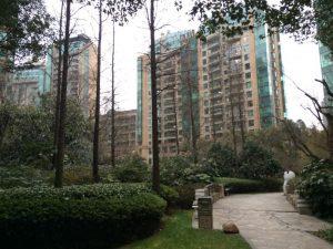 A gated community in Shanghai