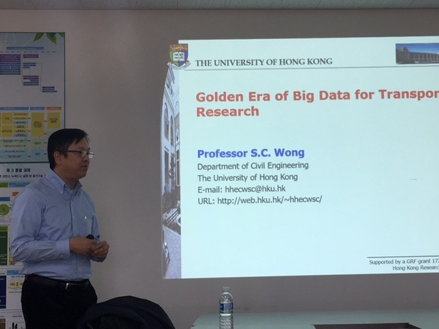 Prof. S.C. Wong Visits Ajoo Univeristy, Korea