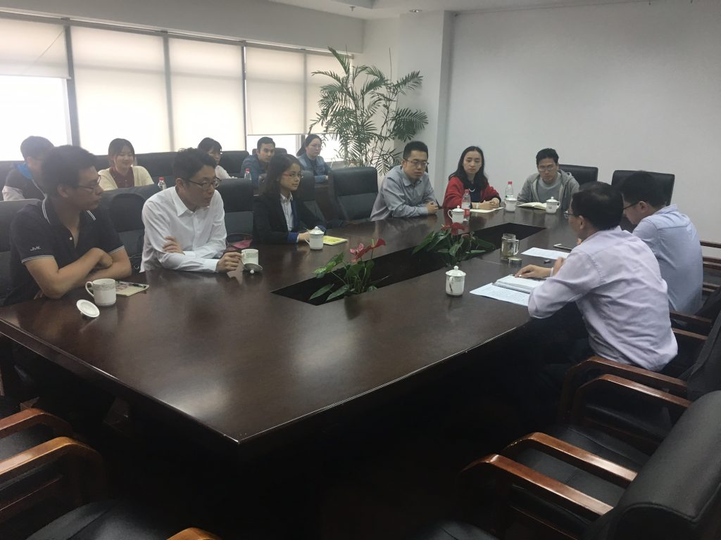 Collaboration meeting with Partners in Suzhou