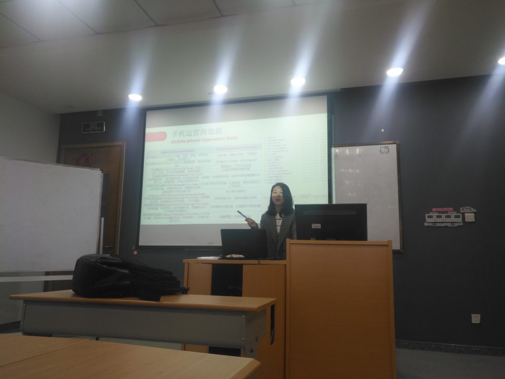 Special lecture from transport innovation