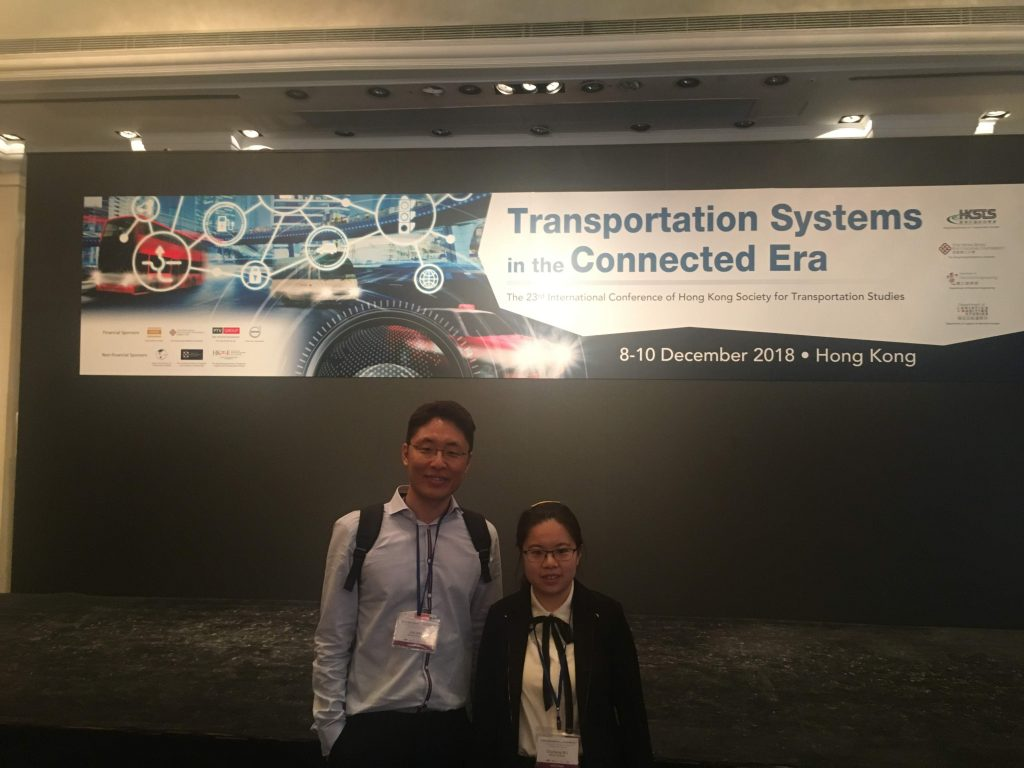 THE 24TH INTERNATIONAL CONFERENCE OF HONG KONG SOCIETY FOR TRANSPORTATION STUDIES