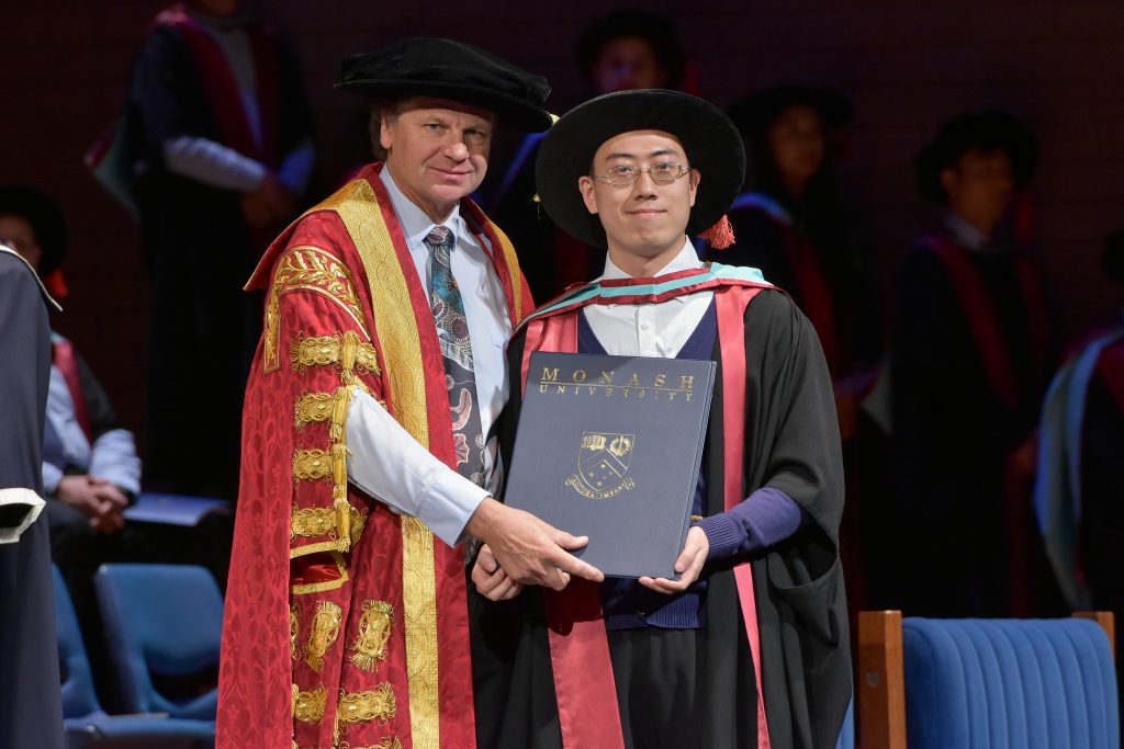 Xinyuan's PhD graduation